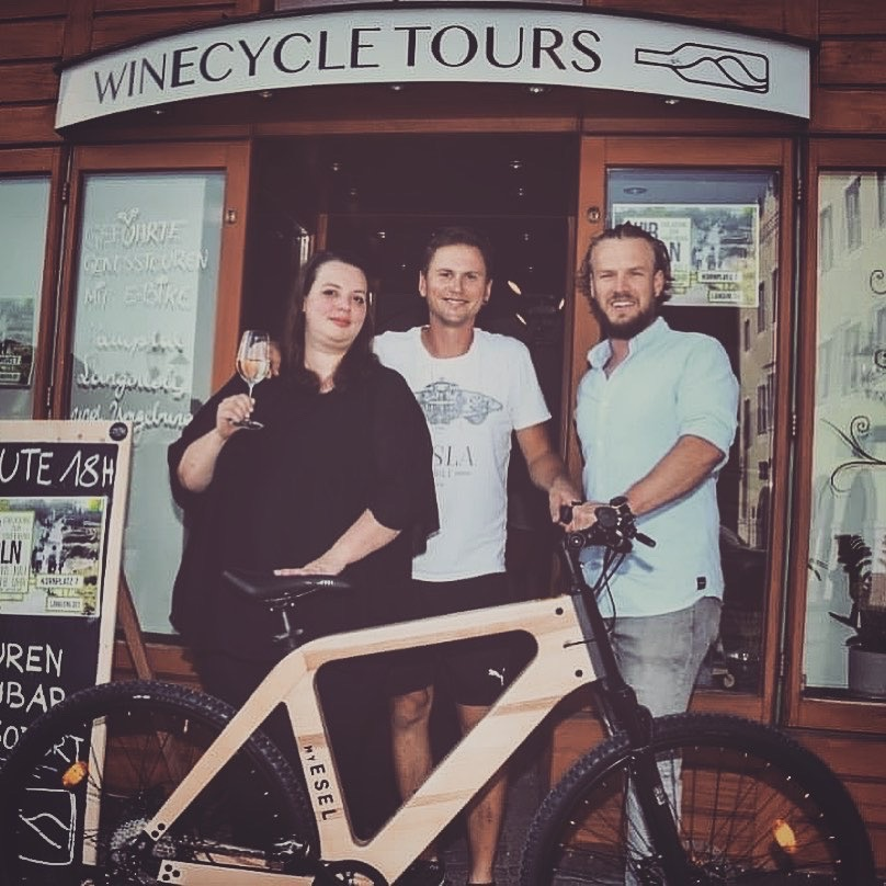 Das WinEcycle Tours Team